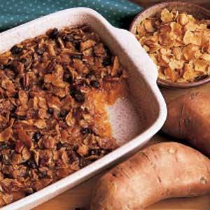 Cornflake Sweet Potato Casserole Recipe