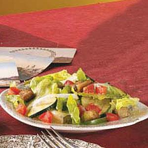 Tossed Eggplant Salad Recipe
