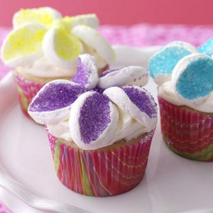 Flower Garden Cupcakes Recipe