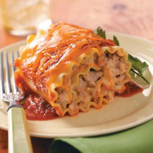 Favorite Lasagna Roll-Ups Recipe