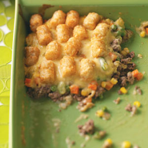 Makeover Tater-Topped Casserole Recipe