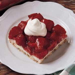 Fresh Strawberry Dessert Recipe