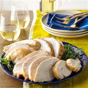 Moist & Tender Turkey Breast Recipe