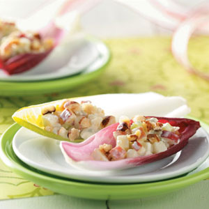 Apple & Blue Cheese on Endive Recipe