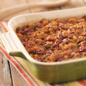 Cherry Baked Beans Recipe