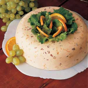 Orange Buttermilk Gelatin Salad Mold Recipe