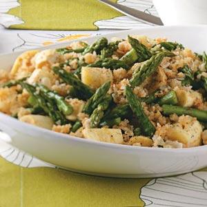 Parsnip-Asparagus Au Gratin Recipe