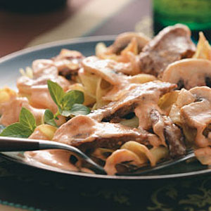 Hearty Beef Stroganoff Recipe