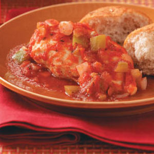 Creole-Poached Chicken Breasts Recipe