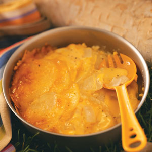 Briquette Scalloped Potatoes Recipe