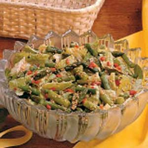 Sesame Asparagus Salad Recipe