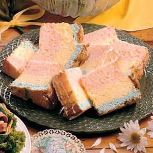 Rainbow Angel Food Cake Recipe
