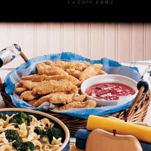 Oven Chicken Fingers Recipe