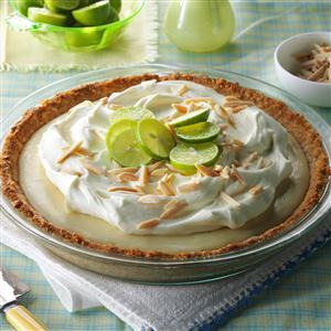 Marshmallow-Almond Key Lime Pie Recipe