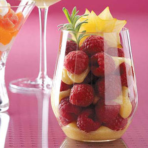 Raspberry Lemon Trifles Recipe