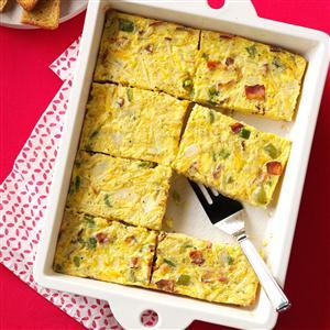 Sunday Brunch Egg Casserole Recipe