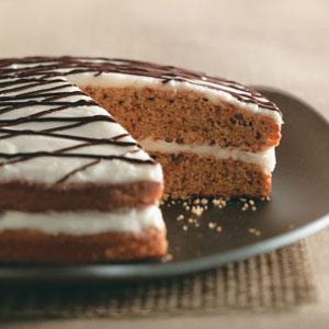 Makeover Two-Tone Spice Cake Recipe