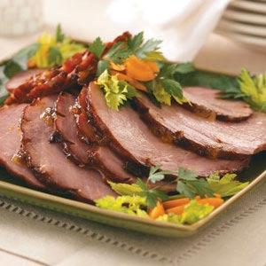 Apricot & Mango-Glazed Ham Recipe
