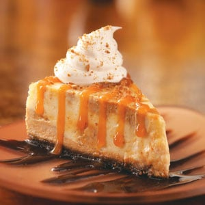 Deluxe Pumpkin Cheesecake Recipe