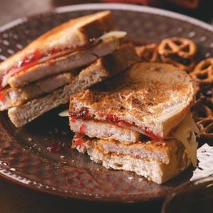 Breaded Turkey Sandwiches Recipe
