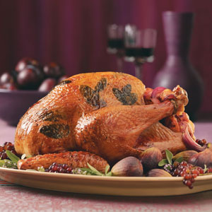 Juicy Herb-Roasted Turkey Recipe
