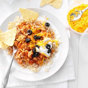 Hearty Turkey & Rice Recipe