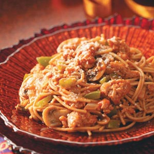Quick Turkey Spaghetti Recipe