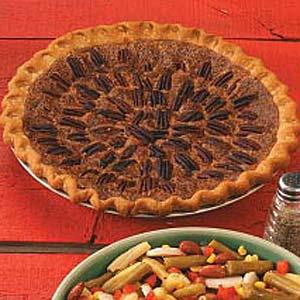 Pecan-Topped Pie Recipe