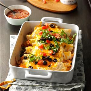 Mexican Turkey Roll-Ups Recipe