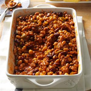 Best-Ever Beans and Sausage