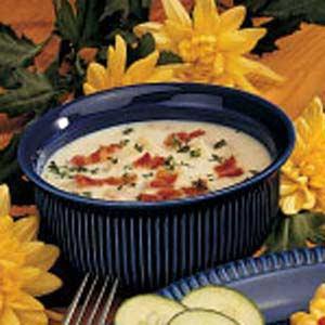 Microwave Clam Chowder Recipe