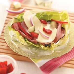 Pastrami Deli Wraps for 2 Recipe