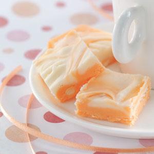 Makeover Marbled Orange Fudge Recipe