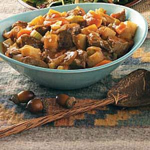 Venison Pepper Stew Recipe