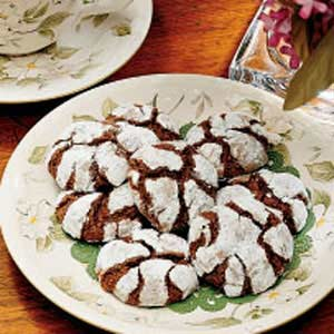 Old-Fashioned Crackle Cookies Recipe