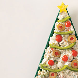Christmas tree dip recipe taste of home christmas tree dip recipe forumfinder Images