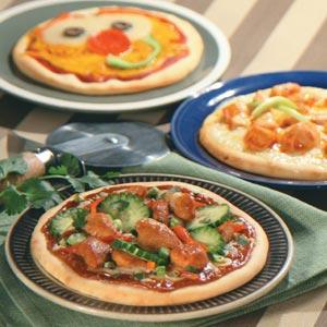 Personal Pizzas Recipe