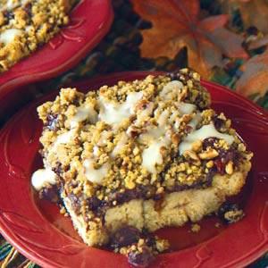 Blueberry Crumble Cake Recipe