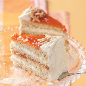 Apricot Almond Torte