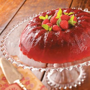 Cran-Raspberry Gelatin Salad Recipe