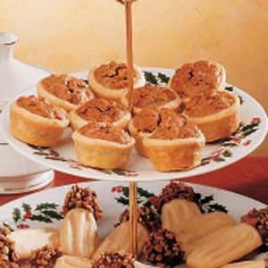 Party Pecan Pies Recipe