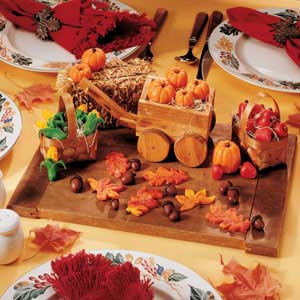Marzipan Harvest Table Topper Recipe