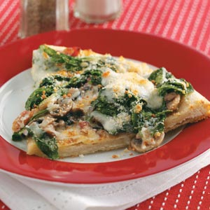 Classic Spinach Pizza Recipe