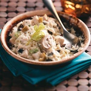 Creamy Chicken and Mushroom Rice Casserole Recipe