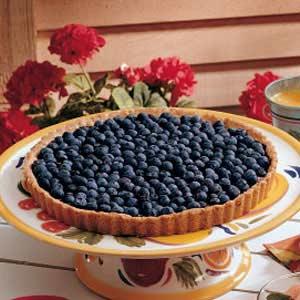 Heavenly Blueberry Tart Recipe