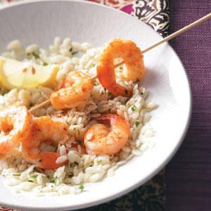 Spicy Shrimp Kabobs Recipe