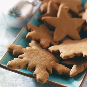 Gingerbread Crisp Cutouts Recipe