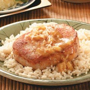 Curry-Glazed Pork Chops Recipe