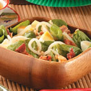 Korean Spinach Salad Recipe