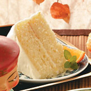 Old-Fashioned Orange Layer Cake Recipe